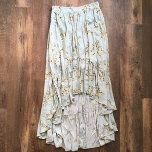 Xhilaration Boho high-low skirt